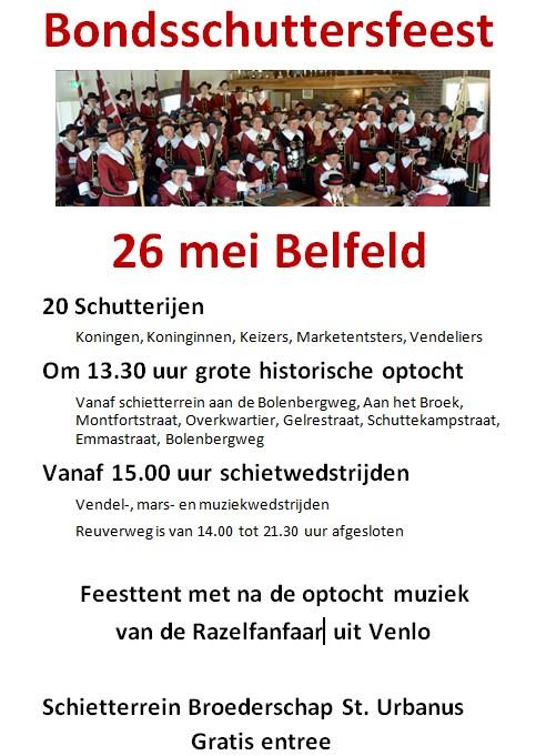 Bondsfeest Belfeld